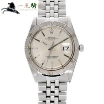 Rolex Datejust Turn-O-Graph pre-owned 36mm Silver Steel