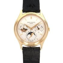Patek Philippe Perpetual Calendar Yellow gold 36mm Silver United States of America, California, Beverly Hills