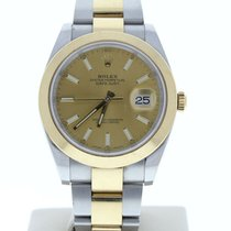 Rolex Datejust pre-owned 41mm Yellow Date