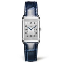 Jaeger-LeCoultre Reverso Classic Small Duetto Acero 34.2mm Plata Árabes