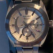 Seiko Ananta Steel 46mm White No numerals