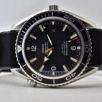 Omega Seamaster Planet Ocean Zeljezo 45,5mm Crn Arapski brojevi