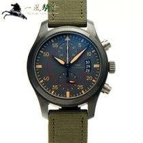 IWC Pilot Chronograph Top Gun Miramar pre-owned 46mm Grey Chronograph Plastic