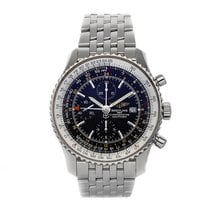 Breitling Navitimer World Steel 46mm Black No numerals United States of America, Pennsylvania, Bala Cynwyd