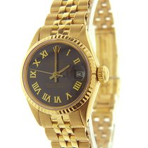 Rolex Oyster Perpetual Lady Date 25mm Black Roman numerals United States of America, Florida, Miami