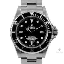 Rolex Sea-Dweller Stainless Steel Black Index Dial 60min Bezel...