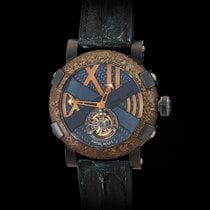 Romain Jerome 46mm Manual winding new Titanic-DNA Black