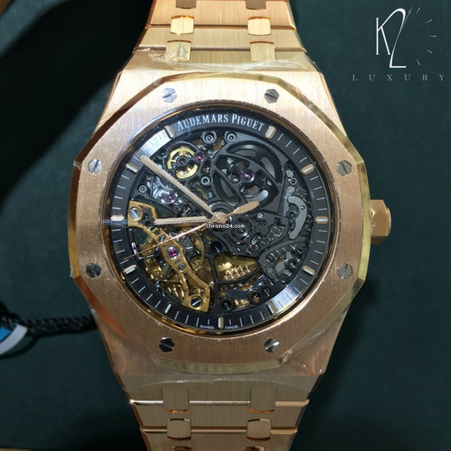 e04fb4ff1e7 Audemars Piguet Royal Oak Double Balance Wheel Openworked Rose gold - all  prices for Audemars Piguet Royal Oak Double Balance Wheel Openworked Rose  gold ...