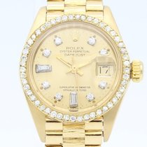 Rolex Oyster Perpetual Datejust Diamonds Bezel 6917