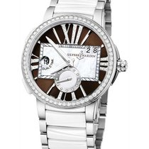 Ulysse Nardin 243-10B-7/30-05 Executive Dual Time in Steel...