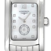 Longines Dolce Vita Stainless Steel Womens Watch MOP Dial...