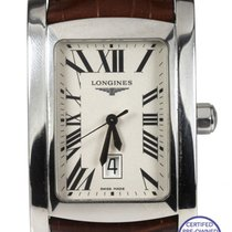 Longines DolceVita XL Silver Roman 34mm L5.686.4 Stainless...