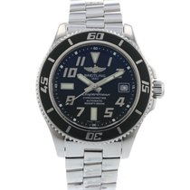 Breitling SuperOcean II A17364 Watch with Stainless Steel...