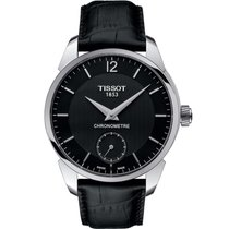 Tissot T-Complication Acero 43mm Negro