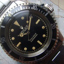 Rolex 1962 Ver Rare Unpolished 1st Owner 5512 Gilt Dial Cornino