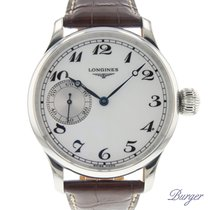 Longines 47mm Automatisch 2004 tweedehands Wit