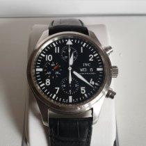 IWC Pilot Chronograph używany 42mm Stal