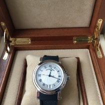 Breguet 39mm Automatic pre-owned Marine Silver