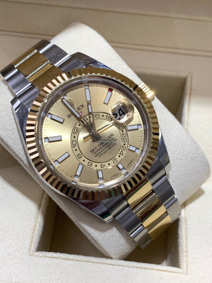 a36c7c0a924a1 Rolex Sky-Dweller - all prices for Rolex Sky-Dweller watches on Chrono24