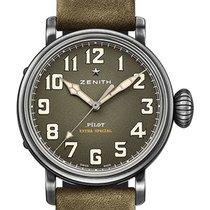 Zenith Pilot Type 20 Extra Special Steel 40mm Green