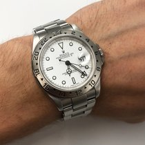 Rolex Explorer II Steel 40mm White No numerals United States of America, New York, NYC