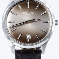 Zenith Captain Central Second Steel 40mm United States of America, Illinois, BUFFALO GROVE
