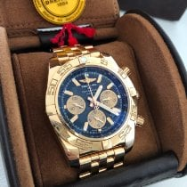 Breitling pre-owned Automatic Blue Sapphire Glass 30 ATM