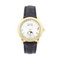 Blancpain Léman Moonphase Yellow gold 38mm White Roman numerals United States of America, Pennsylvania, Bala Cynwyd