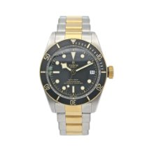Tudor Black Bay S&G Gold/Steel 41mm Black No numerals United States of America, New York, New York