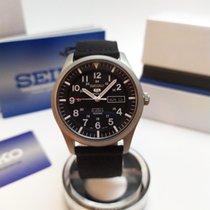 Seiko 5 Sports Steel 42mm Black
