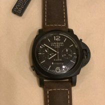 Panerai Luminor 1950 8 Days Chrono Monopulsante GMT Ceramic 44mm Black
