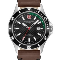 Swiss Military Hanowa Flagship Stahl 42mm Grau