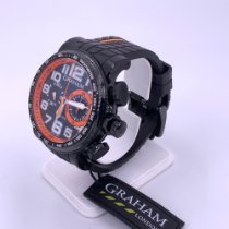 Graham 48mm Automatic Graham Silverstone Stowe Racing Chronograph Automatic Men's pre-owned