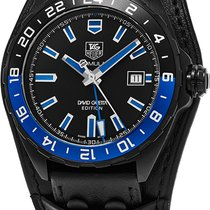 6c299db90d3 TAG Heuer Formula 1 David Guetta Limited Edition Black Leather ...