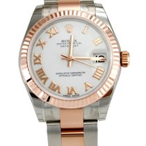 Rolex 178271 DateJust Stainless Steel & Rose Gold Oyster Ladies