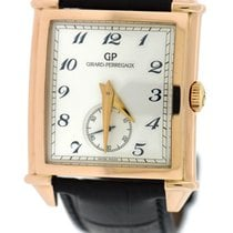 Girard Perregaux Rose gold Automatic 35mm pre-owned Vintage 1945