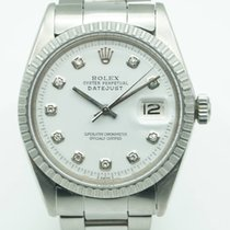 Rolex Datejust 36mm White Diamond Dial Stainless Steel Oyster...