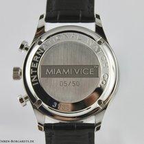 IWC Portugieser Chronograph neu 2008 Automatik Chronograph Uhr mit Original-Box und Original-Papieren 371404