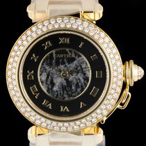 Cartier Pasha Ladies Diamond Set Yellow Gold