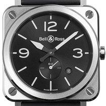 Bell & Ross Acero 39mm Cuarzo BR S nuevo