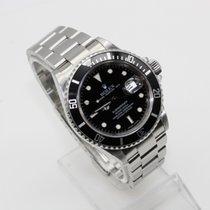 Rolex Submariner Date 16610 T Black Dial 40mm