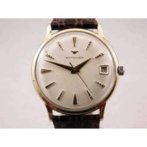 Wittnauer pre-owned Manual winding 34mm Champagne Not water resistant