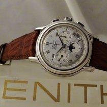 Zenith Chronograaf 40mm Automatisch 2007 tweedehands El Primero Chronomaster Zilver