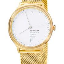 Mondaine Helvetica MH1.L2211.SM MONDAINE ELVETICA Special Edition Oro 38mm neu