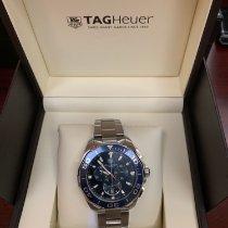 TAG Heuer Chronograph 43mm Automatic 2018 new Aquaracer 300M Blue
