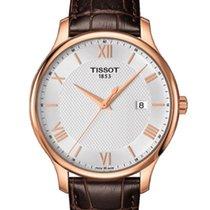 Tissot Tradition nieuw 42mm Goud/Staal