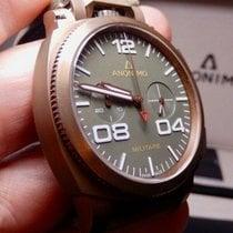 Anonimo Militare neu 2010 Automatik Chronograph Uhr mit Original-Box und Original-Papieren 1010