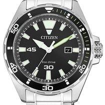 Citizen Steel 43mm Quartz BM7451-89E new