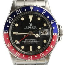 Rolex GMT-Master Steel 40mm Black No numerals United Kingdom, London