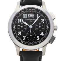 Schwarz Etienne Steel 43mm Automatic AB1149 new